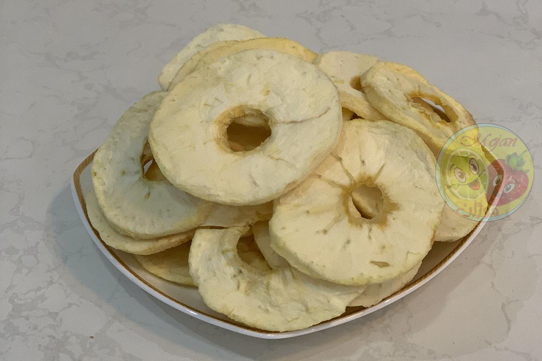 سیب زرد خشک