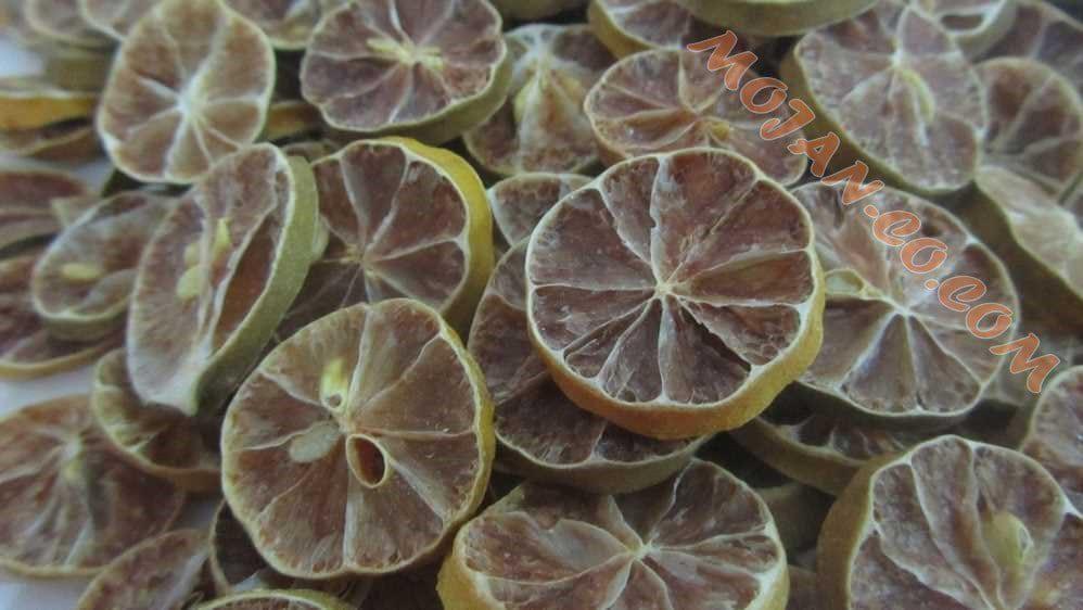 لیمو ترش خشک