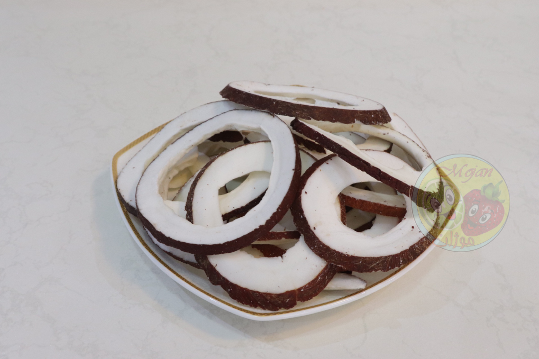 Dried coconut fruit