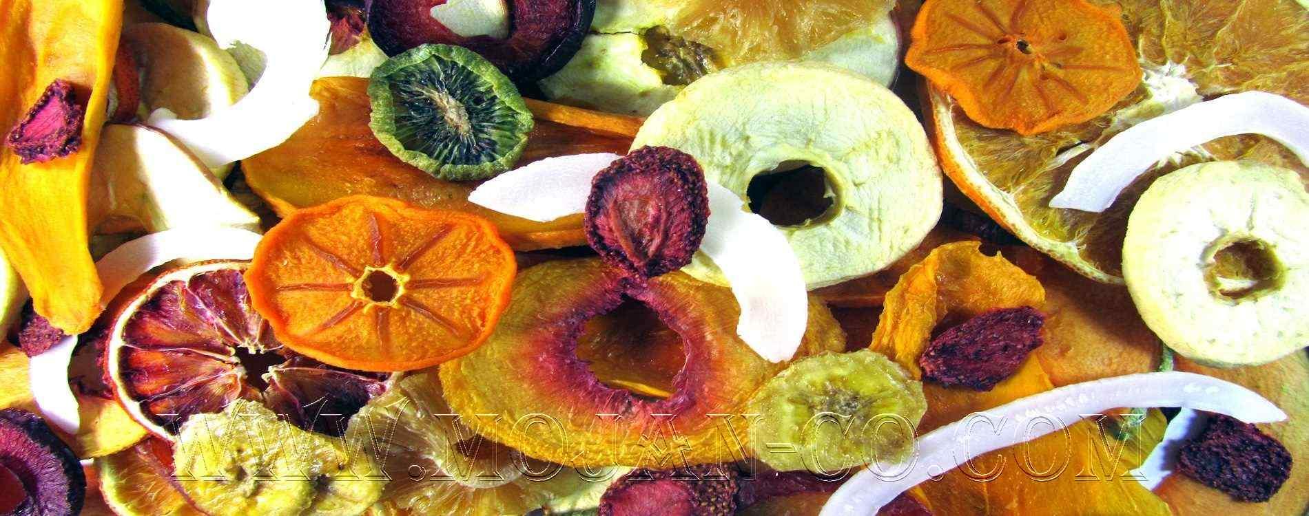 چیپس میوه موژان مخلوط