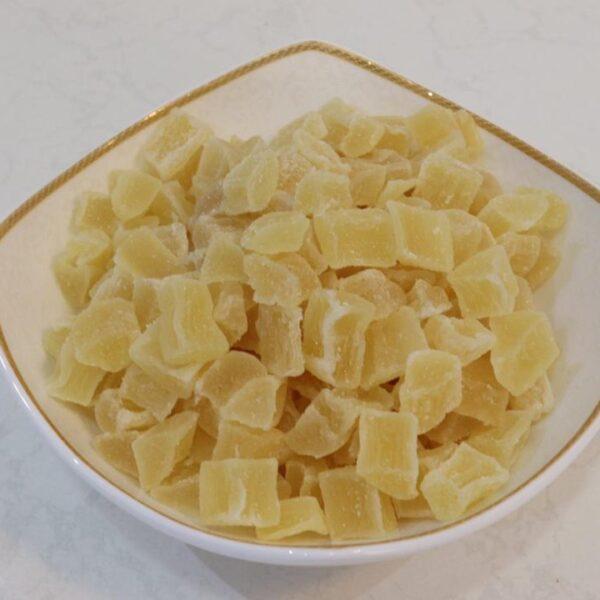 آناناس خشک زرد