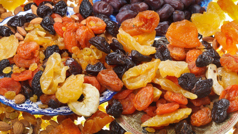 میوه خشک و سلامتی