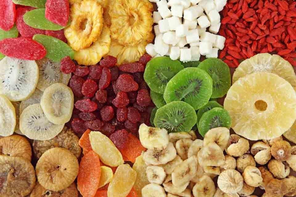 کاهش وزن و میوه خشک