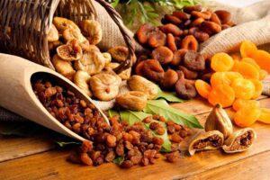 نقش میوه خشک برای سلامتی