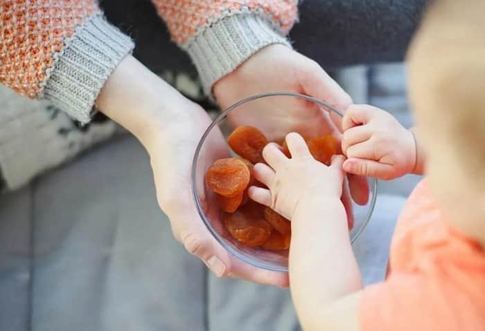 میوه خشک میان وعده سالم برای کودکان