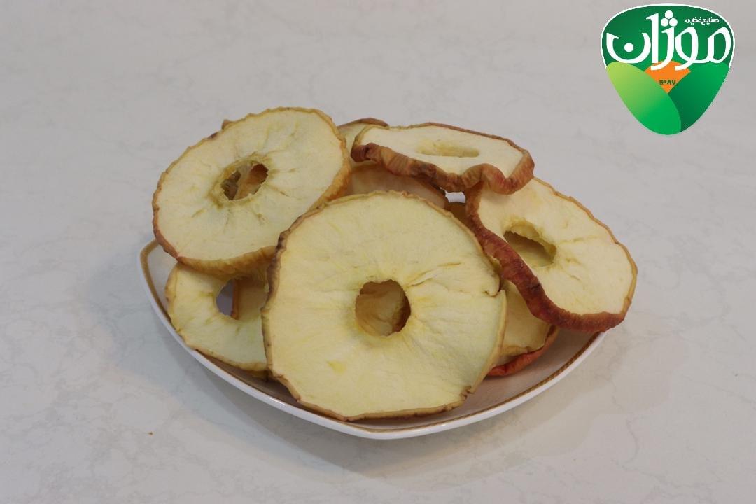 سیب زرد خشک با پوست