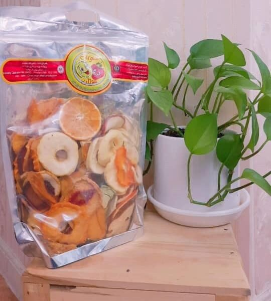 Dried fruit mix zipper
